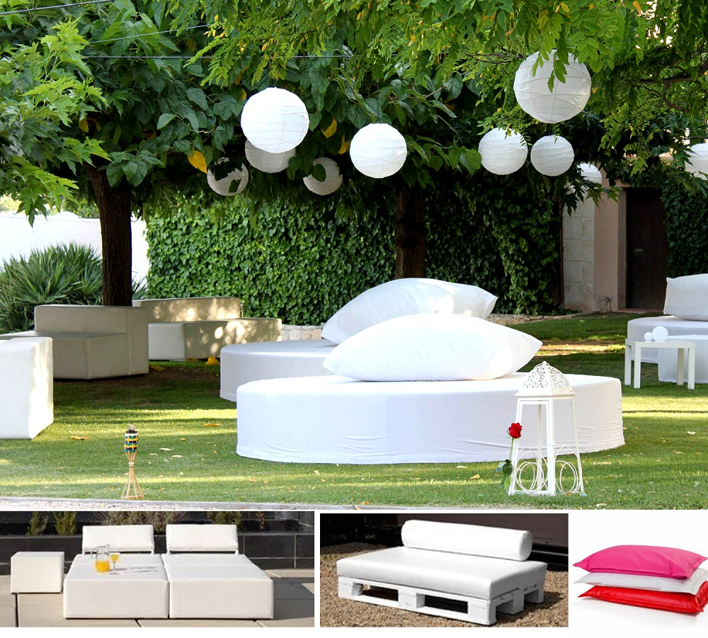 Alquiler Muebles Eventos : Mobiliario chill out alquiler muebles eventos