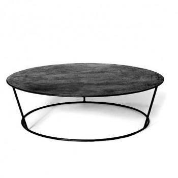 mesa baja hierro