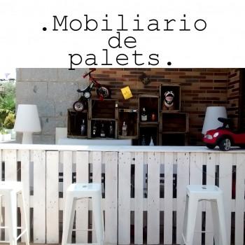 alquiler de muebles con palets