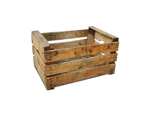 Elementos decorativos para eventos alquilermuebleseventos - Cajas de madera para fruta ...